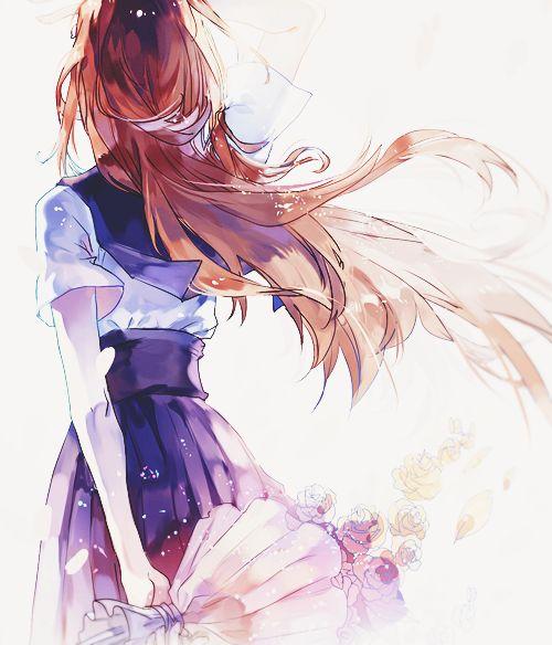 wallpaper anime girl back - photo #7