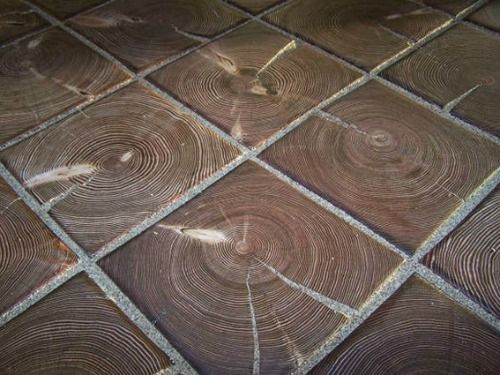 Wood Block Flooring and Paving - Materialicious