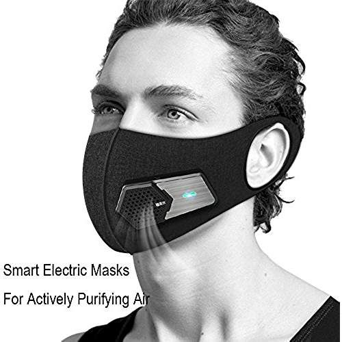 black surgical mask reusable