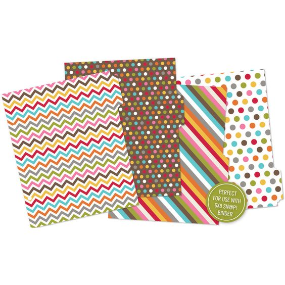 Simple Stories Sn@p! Pages Chipboard Album Dividers Printed Simple Stories Sn@p! Pages Chipboard Album Dividers Printed ,
