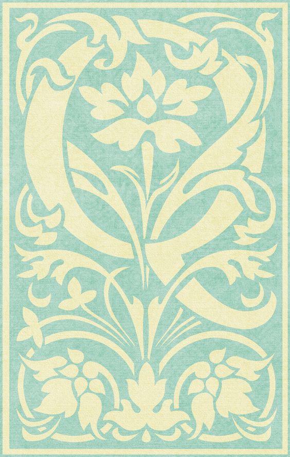 PAPIROLAS COLORIDAS: letras en colores shabby chic