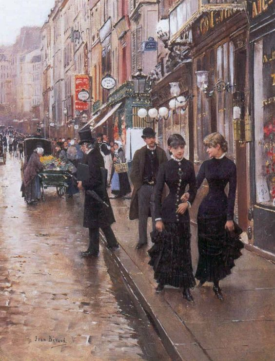 """Paris - The Walk"" ... by Jean Béraud:"