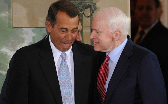 Conservative Group Endorses 2 Amnesty Fighters 'Earlier than Ever Before' to Take on Boehner and McCain  Jim Hoft Aug 20th, 2015