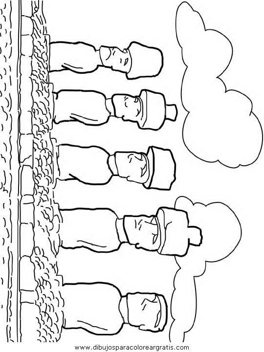 Moais Para Dibujar Imagui Cool Coloring Pages Coloring Pages Color