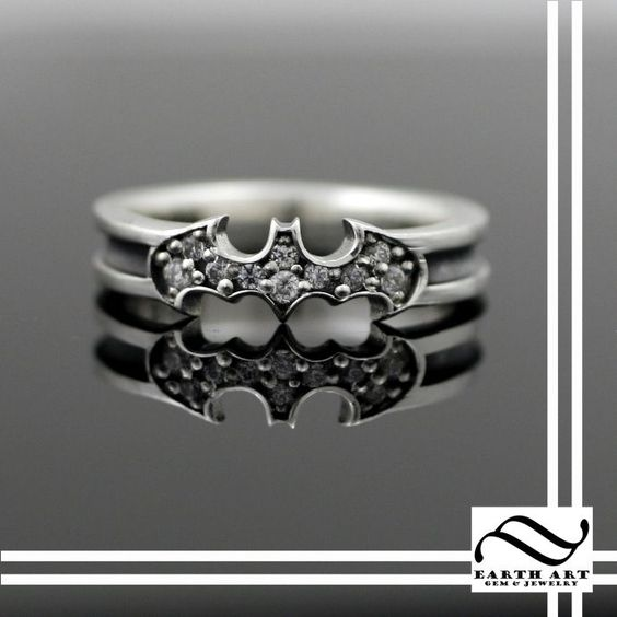 Custom Made Holy Smokes Batman! A Ring!