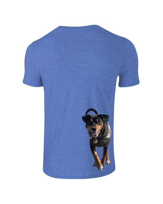 Custom Doggy LIVIN T-shirt