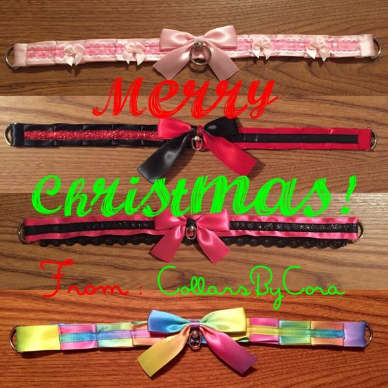Merry Christmas to those who celebrate!!! Christmas Day Special!!!! Buy any bondage proof collar, get a ribbon day collar, absolutely free!!!! Today only!!! #bdsm #bdsmcommunity #bdsmlifestyle #petplay #kittenplay #petplaycommunity #kittenplaycommunity #bdsmgear #bdsmcollar #petplaycollar #kittenplaycollar #ddlg #ddlglifestyle #ddlgcommunity #ddlgcollar #cgl #abdl #mdlg #ddlb #mdlb
