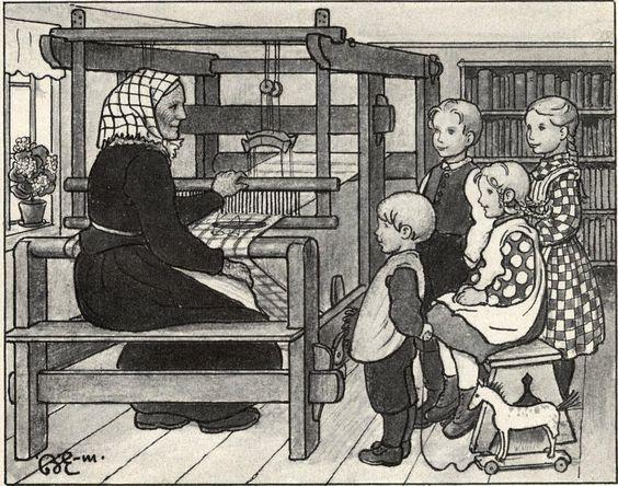 Brita Ellström (1873-1945) Hem och hembygd / I Önnemo. Andra skolåret, 1912