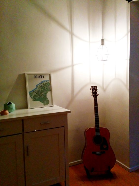 bedroom #guitar #interior #interiordesign #design #lighting ...
