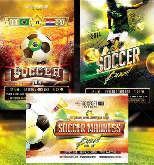 SOCCER TOURNAMENT FLYER DESIGN Design Pinterest Flyer template - soccer flyer template