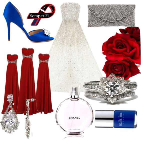 Marine Corp Wedding By Mustang02901 On Polyvore Ideas Pinterest Marines Weddings And