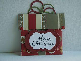 A Blog Named Hero: Cute Christmas Gift Card Holders