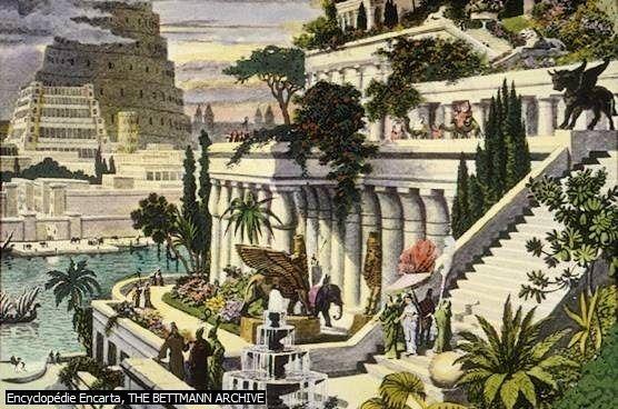 حدائق بابل المعلقة Tagemagazine مجلة تاج Hanging Garden Gardens Of Babylon Wonders Of The World