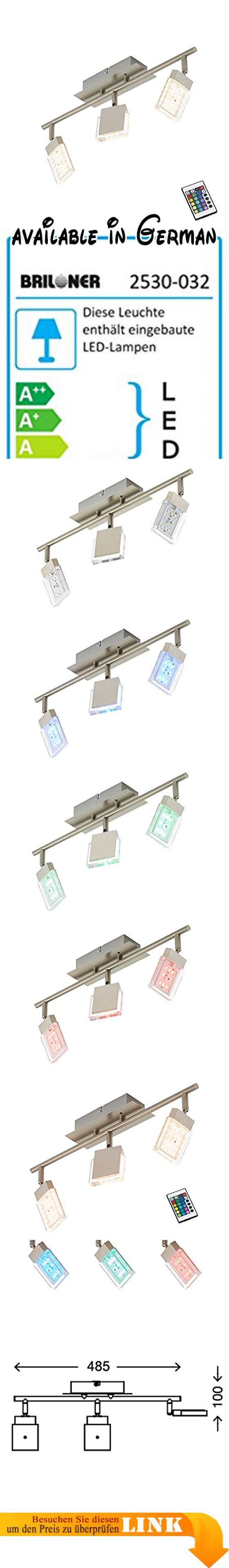 Briloner Leuchten, LED Deckenstrahler, Farbsteuerung/Farbwechsel mit ...