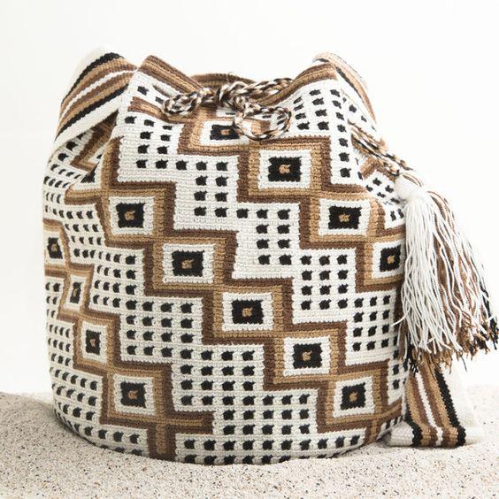 Bolsa Wayuu Tribe – WAYUU TRIBE | Handmade Bohemian Bags: