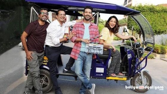 Vikrant Massey And Yami Gautam Kick Start The Going For Their Up And Coming Sentimental Comic Trick Titled Ginny Weds Sunny In Bollywood News Film Yami Gautam
