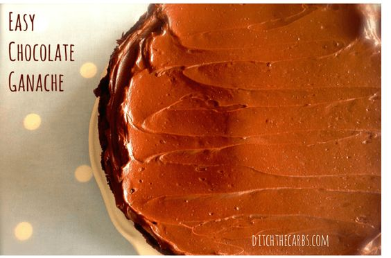 Chocolate Ganache | Recipe | Easy Chocolate Ganache, Chocolate Ganache ...