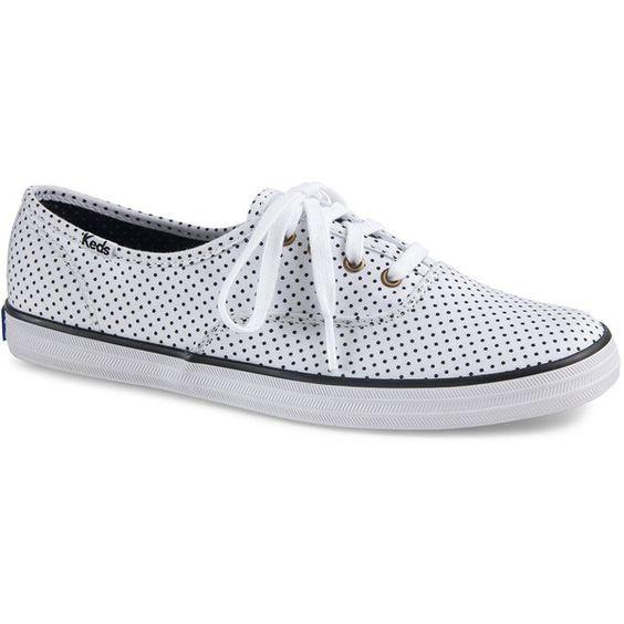 champion polka dot lace keds shoes