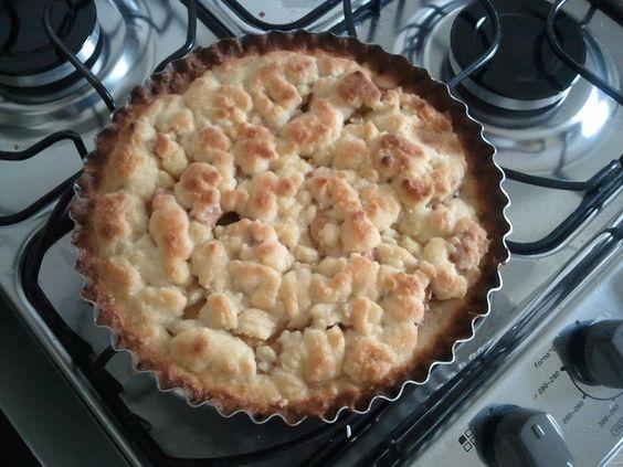 Torta de maçã simples