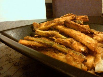 Zucchini bread sticks