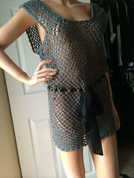 Handmade Crochet Blouse 12
