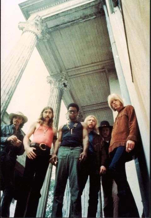 The Allman Brothers Band (circa 1969, Macon GA).
