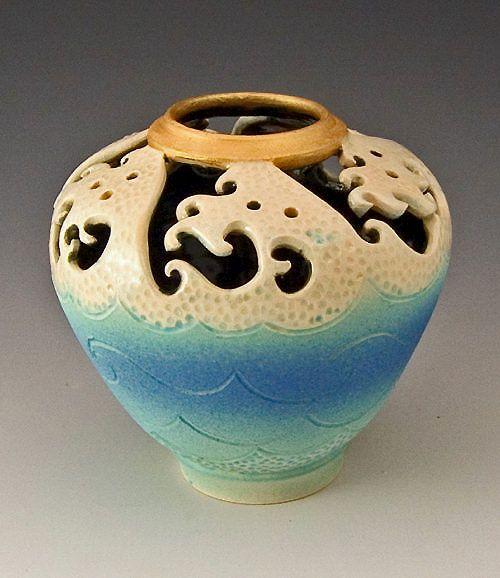 ceramic sculpture | Easy Ceramic Sculptures Top vase ceramic sculpture
