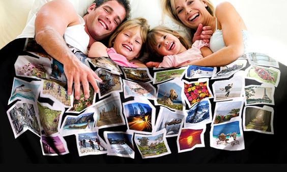 Fotodeckeblanket Deal des Tages | Groupon