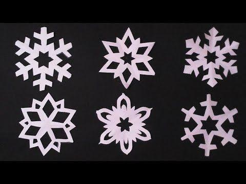 44++ Mini paper snowflakes templates trends