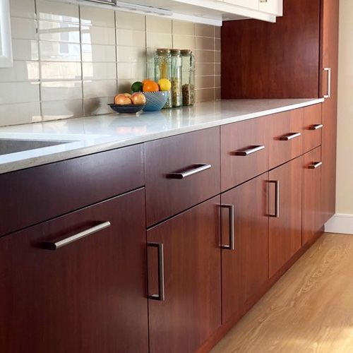 Diy Slab Stain Grade The Cabinet Face Kitchen Design Small Kitchen Renovation Kitchen Design