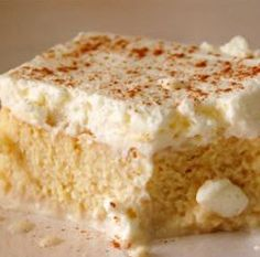 Tres Leches Cake - straight from South America! Authentic, easy & divine. Click through for the recipe. #recipe #cake