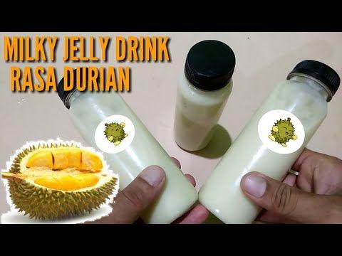 Ide Bisnis 2019 Buat Jualan Milky Jelly Drink Rasa Durian Yummy Banget Youtube Ide Bisnis Ide Minuman