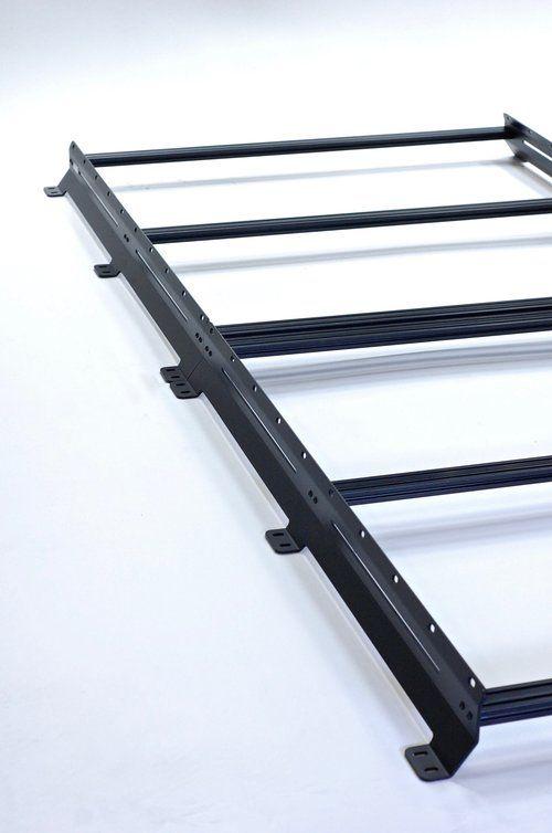 The Low Pro Roof Rack Flatline Van Co Roof Rack Roof Van Roof Racks