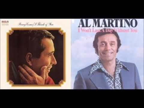 Men Of Song Perry Como Al Martino Hit Recordings Of The 70 S