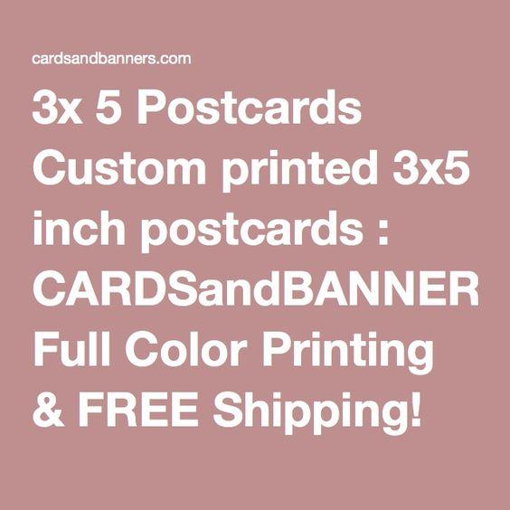 printing on 3 x 5 cards