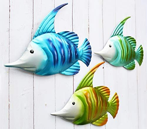 Whimsical Popular And Unique Fish Wall Decor Ideas Home Wall Art Decor Metal Fish Wall Art Metal Garden Wall Art Garden Wall Art