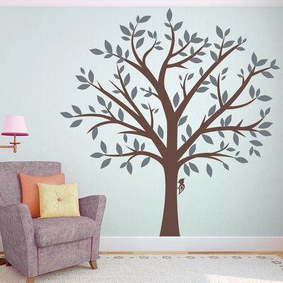 Zoomie Kids Large Family Tree Wall Decal Family Tree Wall