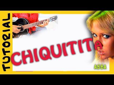 Como Tocar Chiquitita En Guitarra Acustica Abba Acordes How To Play Youtube Abba Guitarras Guitarra Acustica