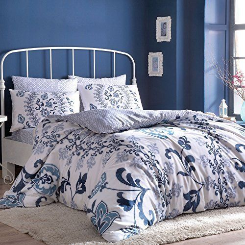 Luciana Bedding Duvet Cover Set 100 Cotton Full Double Size