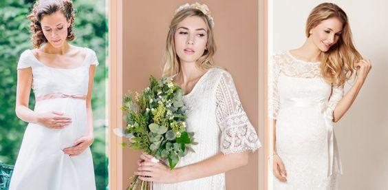 Doppeltes Glück: Die schönste Umstandsmode zur Hochzeit