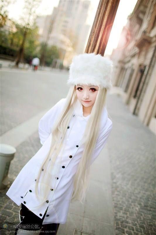SeeU Irisviel von Einzbern Cosplay Photo - Cure WorldCosplay