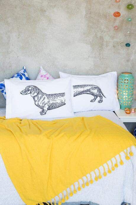 Dachshund Pillowcase Set $28.00