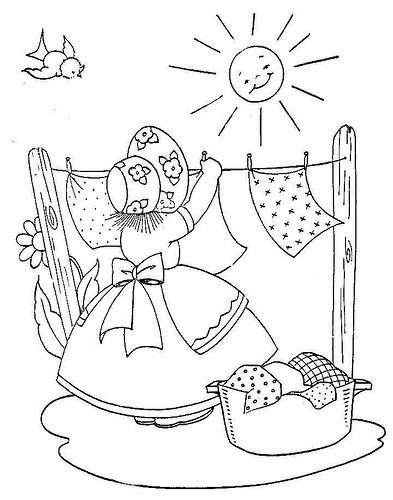 Pinterest the world s catalog of ideas for Laundry coloring pages
