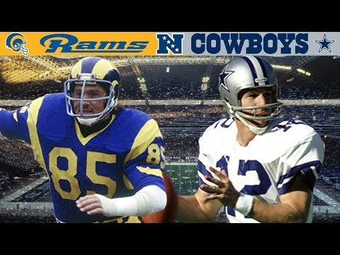 A Playoff Surprise Rams Vs Cowboys 1979 Nfc Divisional Youtube Cowboys Nfc Los Angeles Rams