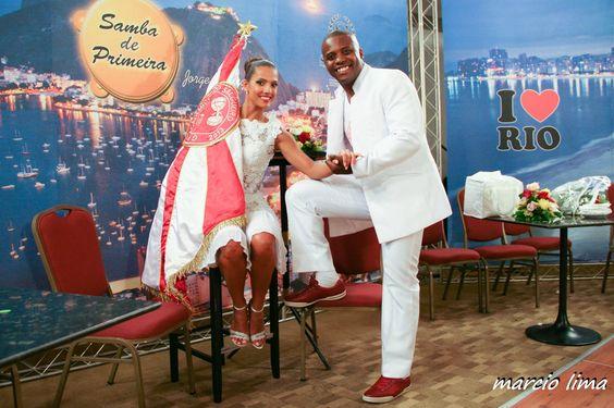 Carnaval 2014, Marcella Alves e Sidclei, gravação do programa Samba de Primeira.