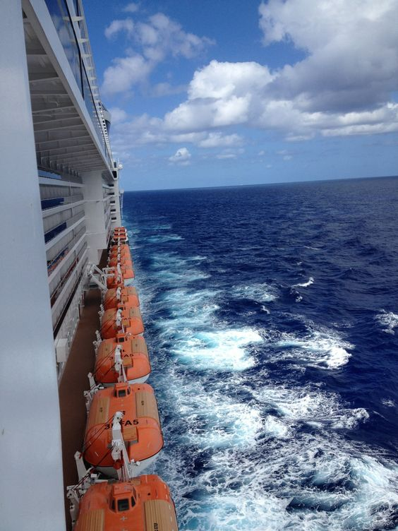 Sea day. View from my balcony stateroom on #MSCDivina. Sailing from #Miami to St. Thomas, San Juan and Great Stirrup Cay.