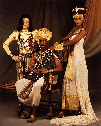 Michael w/Eddie Murphy & Iman on Remember the Time video