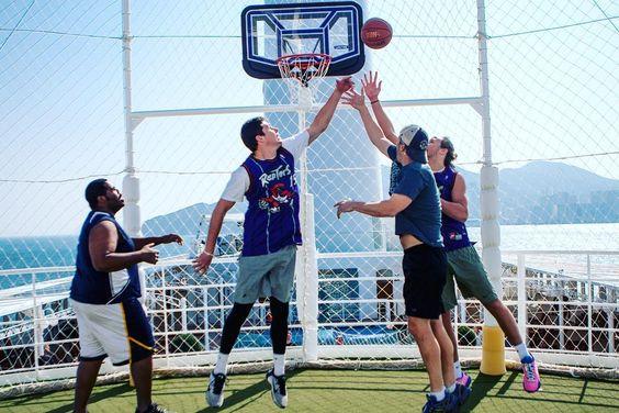 Mv World Odyssey On Instagram The Mv World Odyssey Now Has A Basketball And Volleyball Court On Deck 10 Sas Sassp16 Sasforever S Volleyball Deck Odyssey