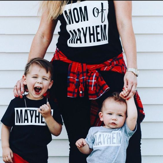 If this isn't the best picture I've ever seen. #momofmayhem #mayhem #masschaos…: