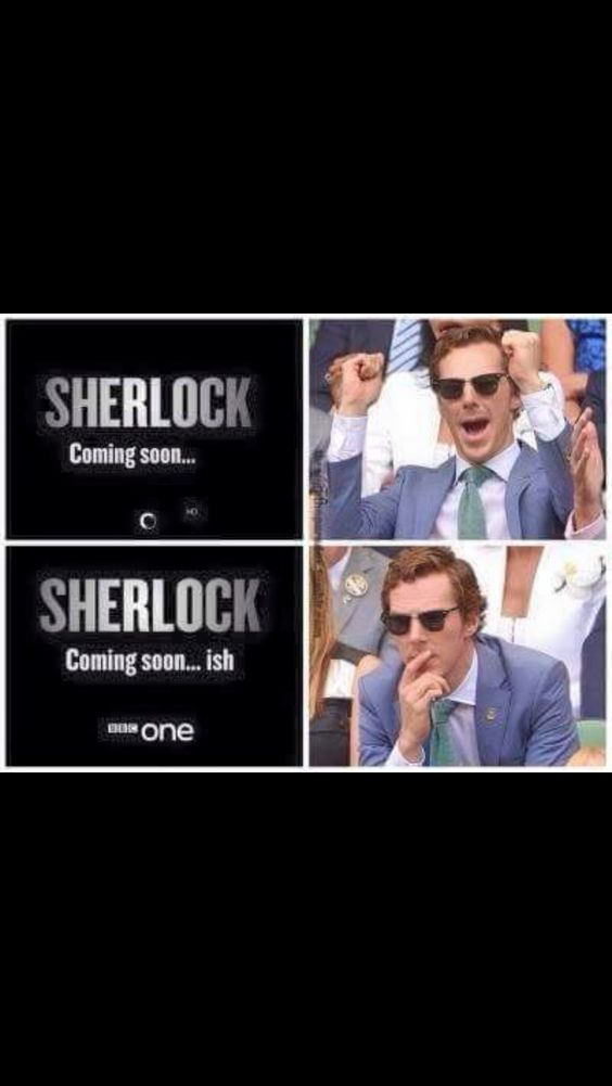 BBC1 is hilarious. I am loving their ad campaign for Sherlock.